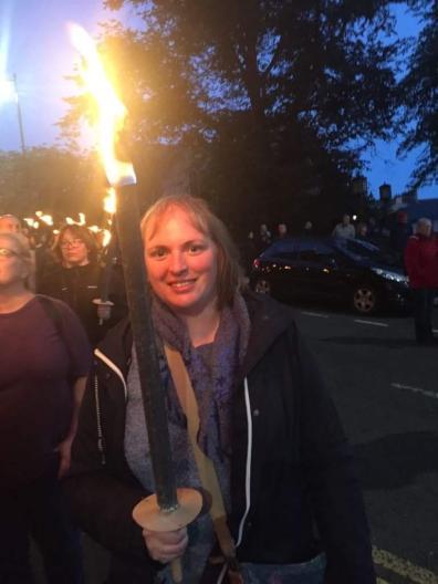 Bloody Scotland Torchlight Procession