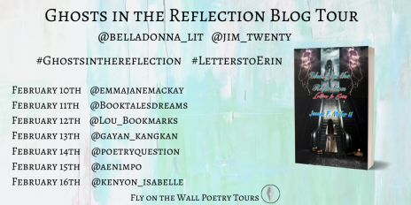 Ghosts in the reflection poster Jim Miller Blog Tour